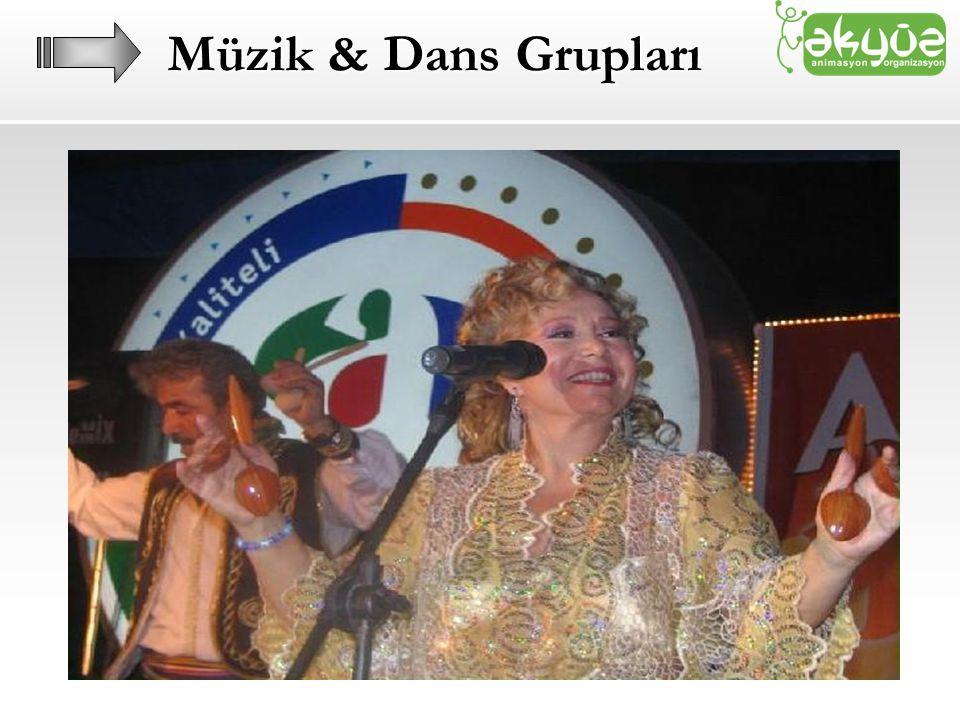 Müzik & Dans Grupları