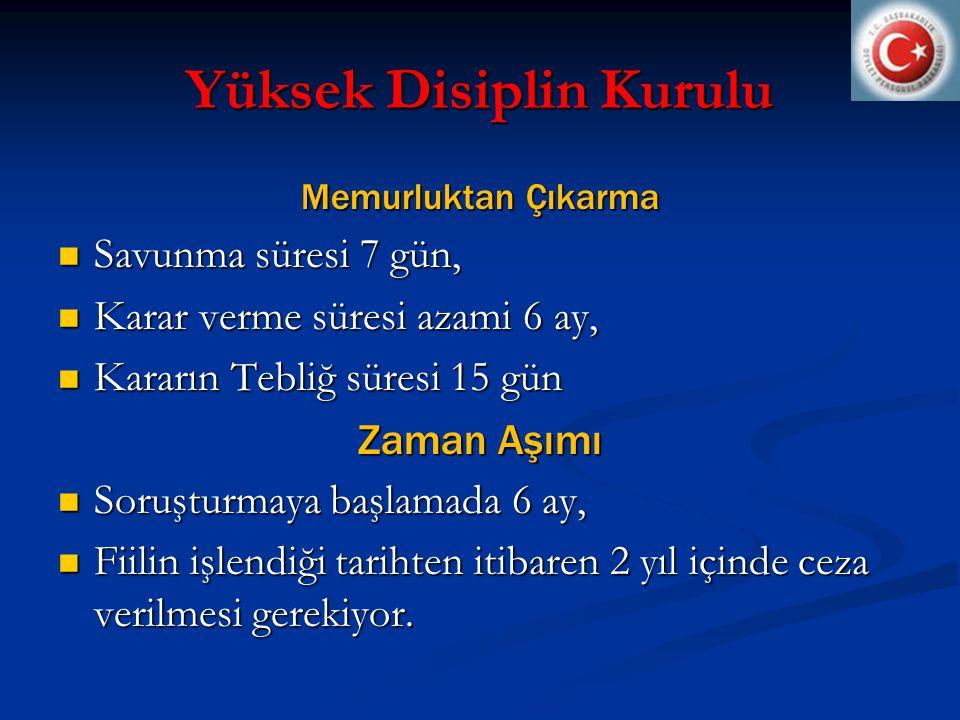 Yüksek Disiplin Kurulu