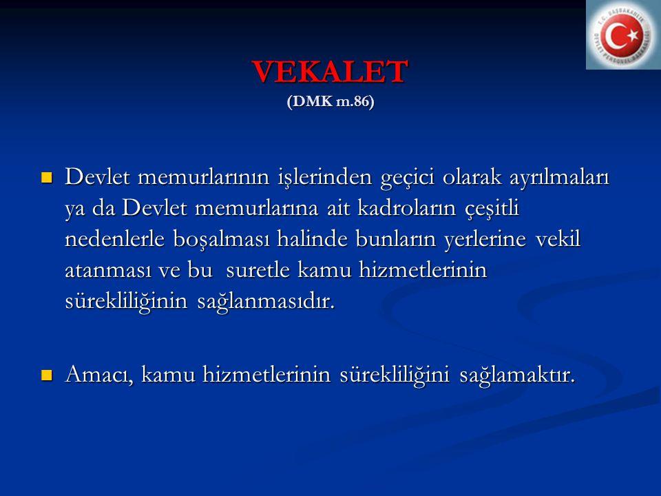 VEKALET (DMK m.86)