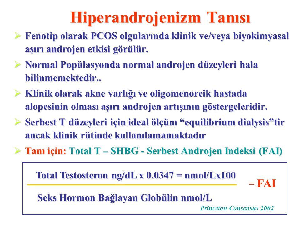 Hiperandrojenizm Tanısı