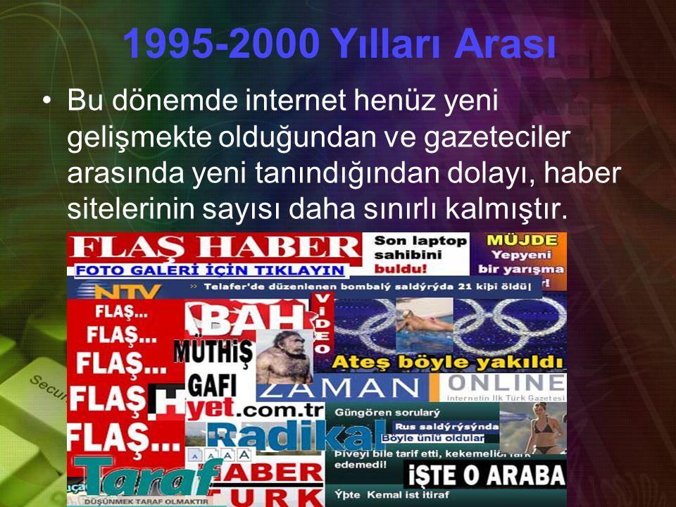 1995-2000 Yılları Arası