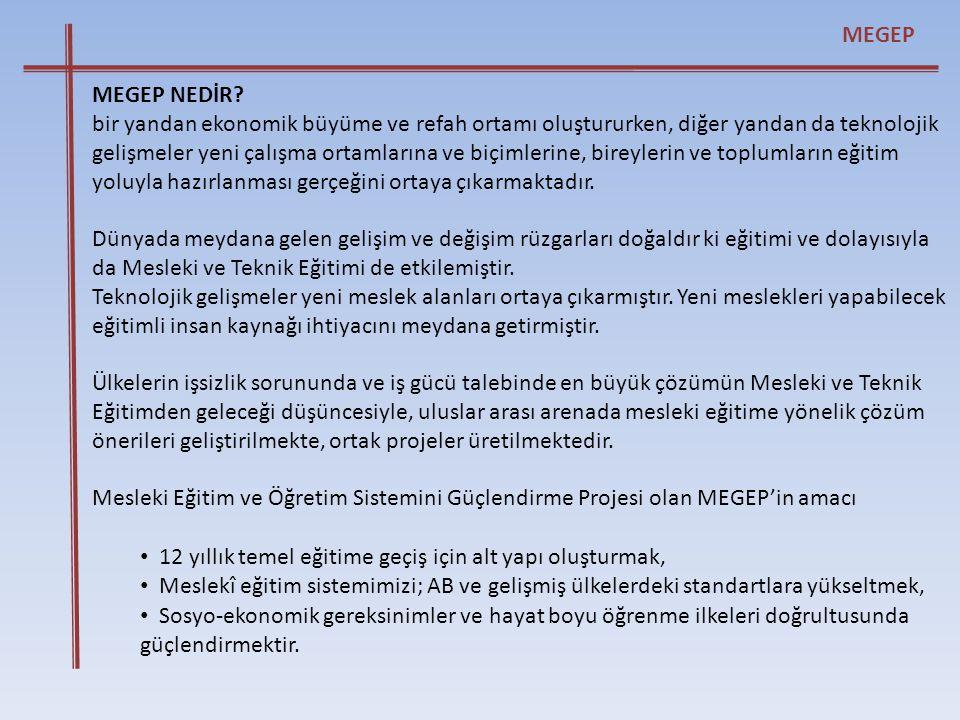 MEGEP MEGEP NEDİR
