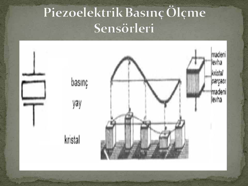 Piezoelektrik Basınç Ölçme Sensörleri