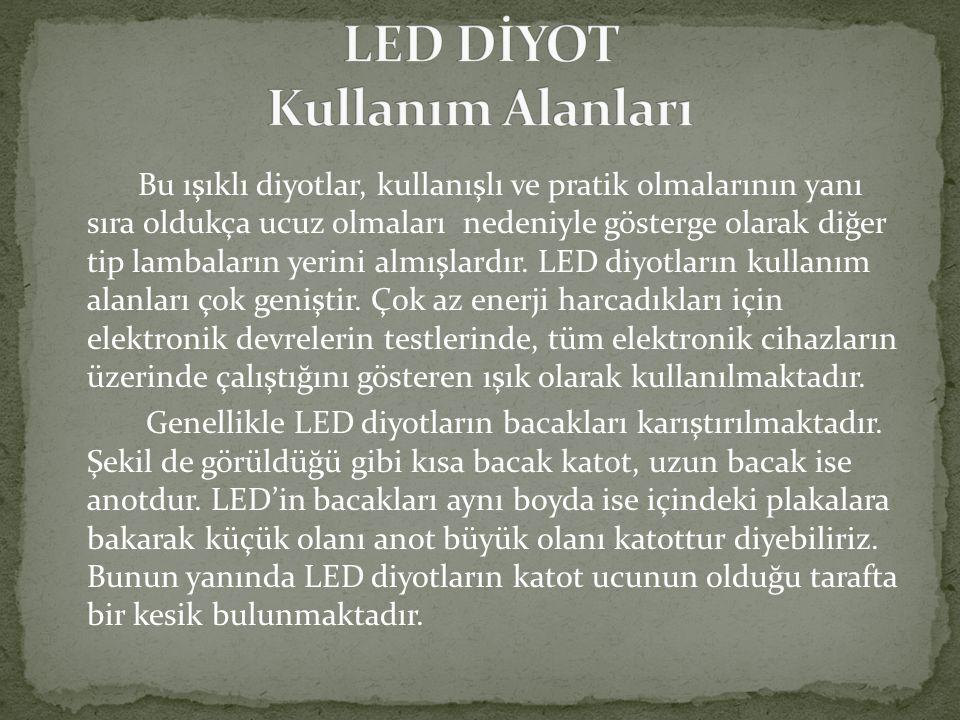 LED DİYOT Kullanım Alanları