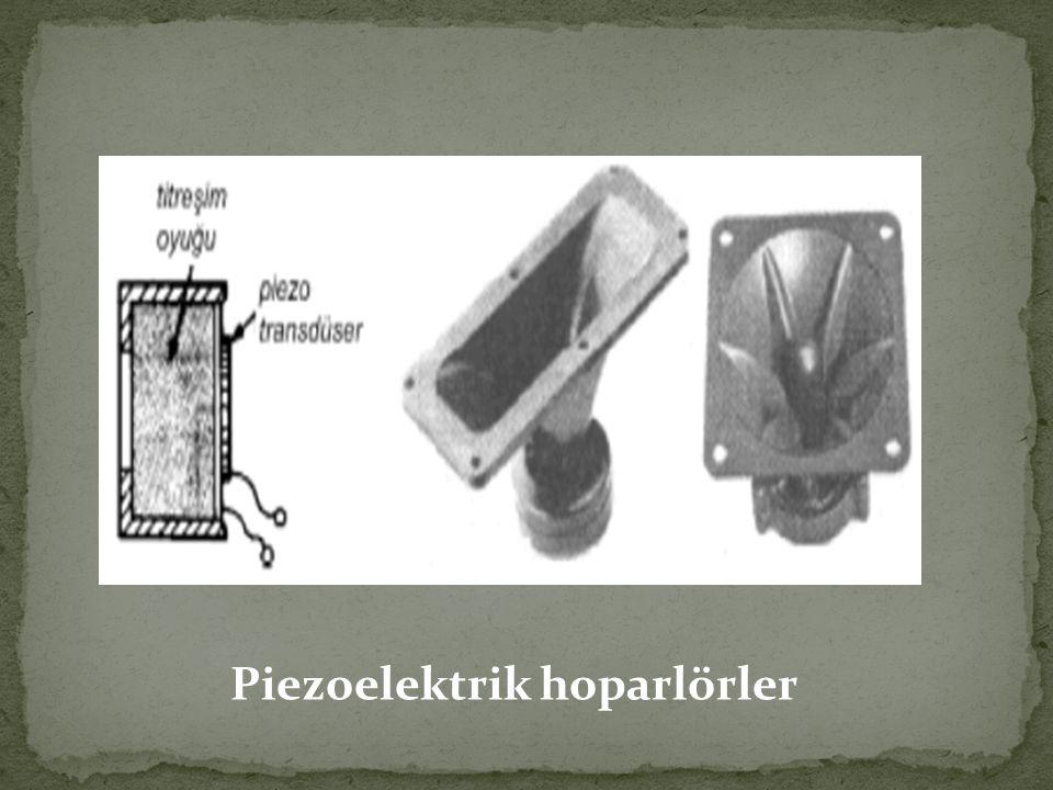 Piezoelektrik hoparlörler