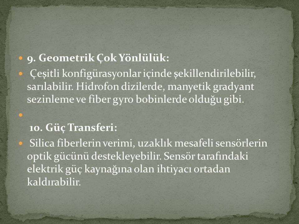 9. Geometrik Çok Yönlülük: