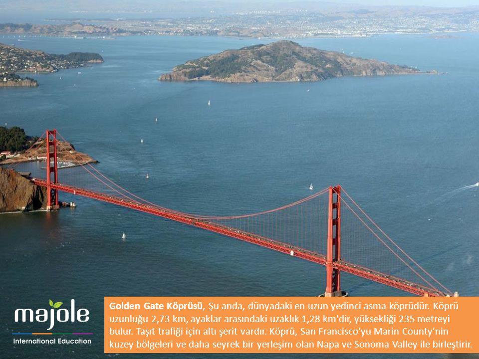 Golden Gate Köprüsü, Şu anda, dünyadaki en uzun yedinci asma köprüdür