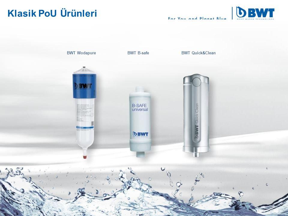 Klasik PoU Ürünleri BWT Wodapure BWT B-safe BWT Quick&Clean