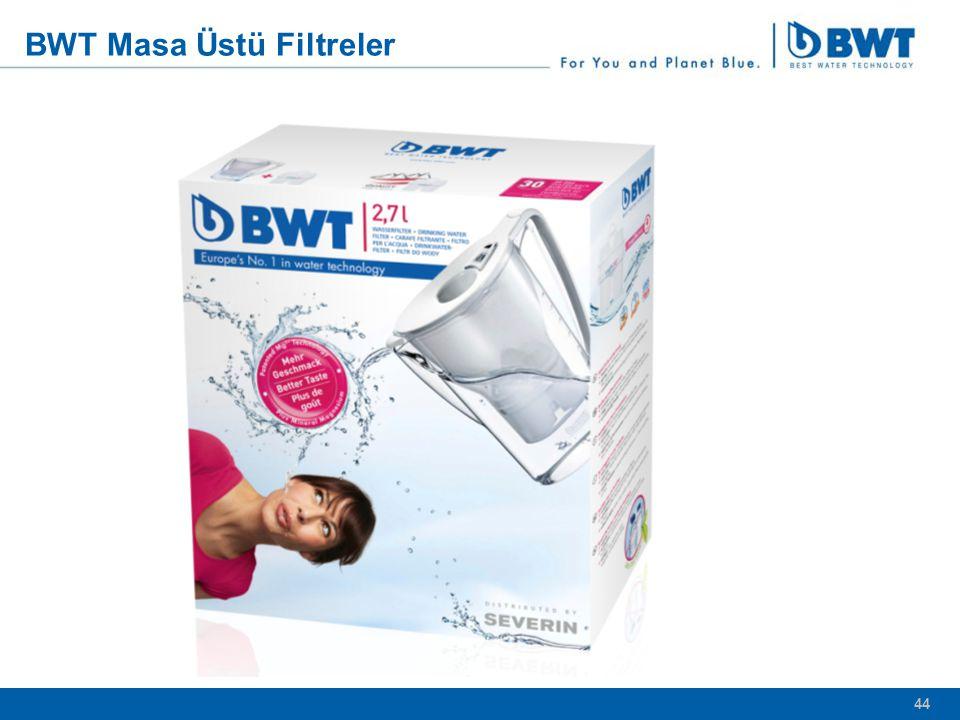 BWT Masa Üstü Filtreler