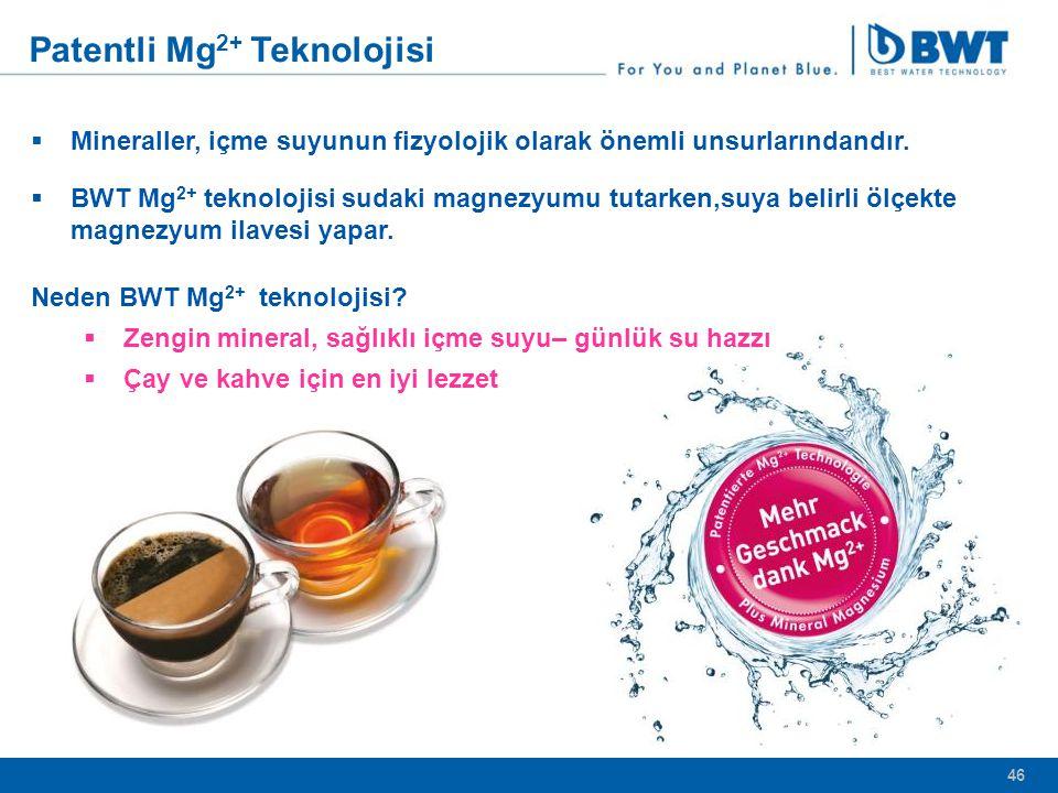 Patentli Mg2+ Teknolojisi