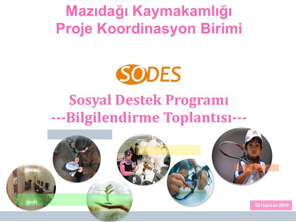 Mazıdağı Kaymakamlığı Proje Koordinasyon Birimi