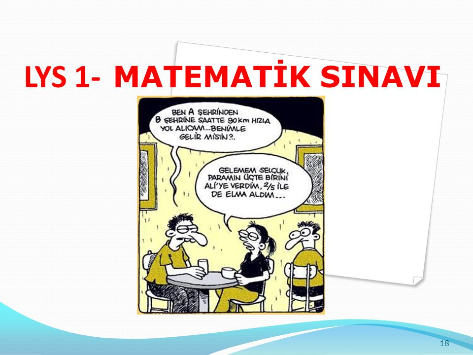 LYS 1- MATEMATİK SINAVI