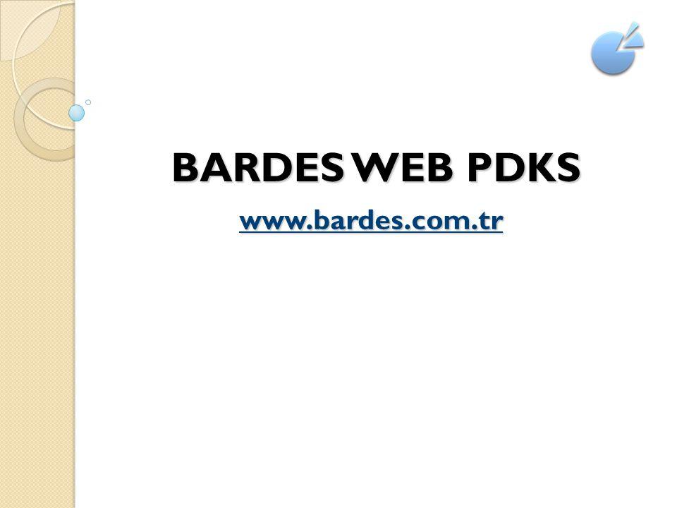 BARDES WEB PDKS www.bardes.com.tr