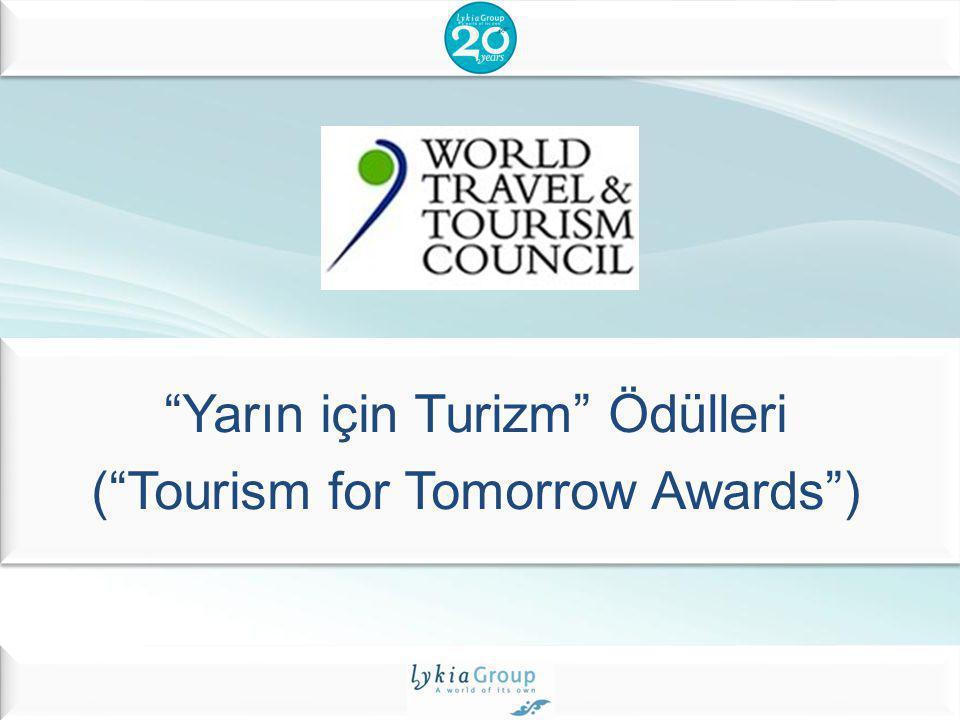 Yarın için Turizm Ödülleri ( Tourism for Tomorrow Awards )