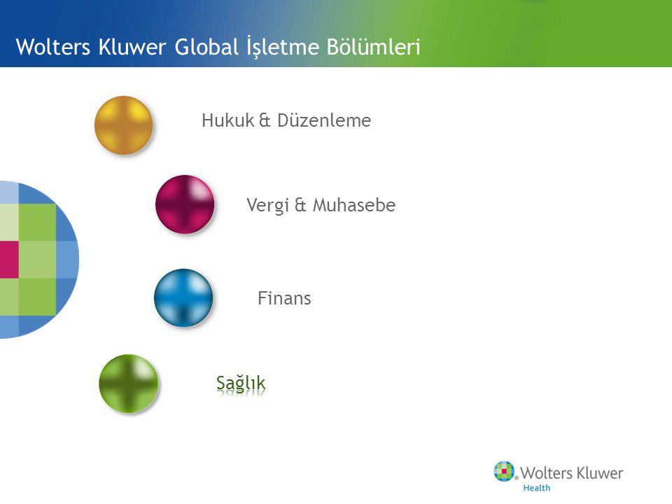 Wolters Kluwer Global İşletme Bölümleri