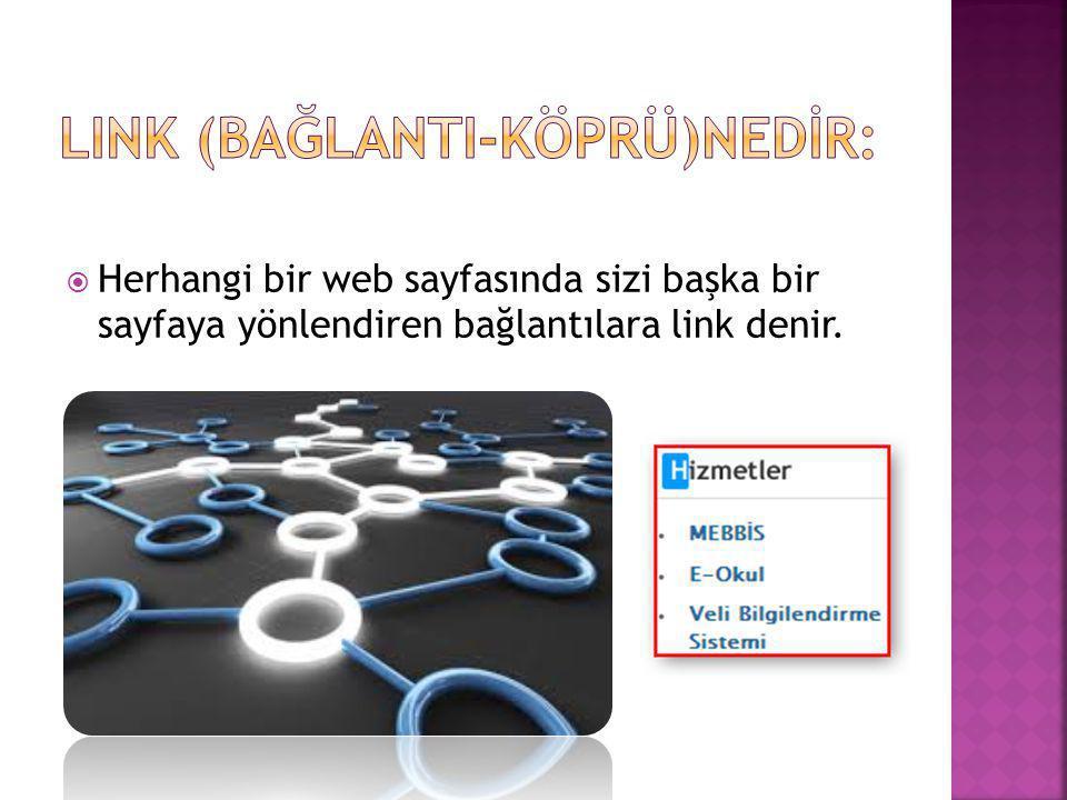 Link (BağlantI-Köprü)Nedİr: