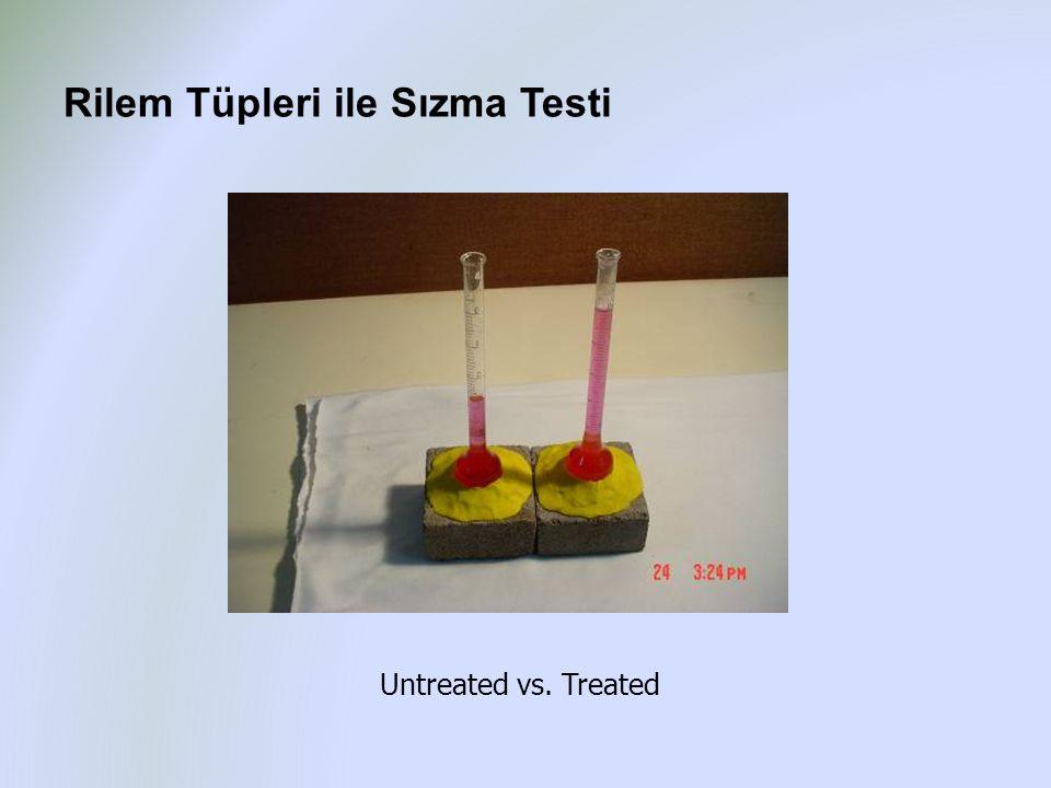 Rilem Tüpleri ile Sızma Testi