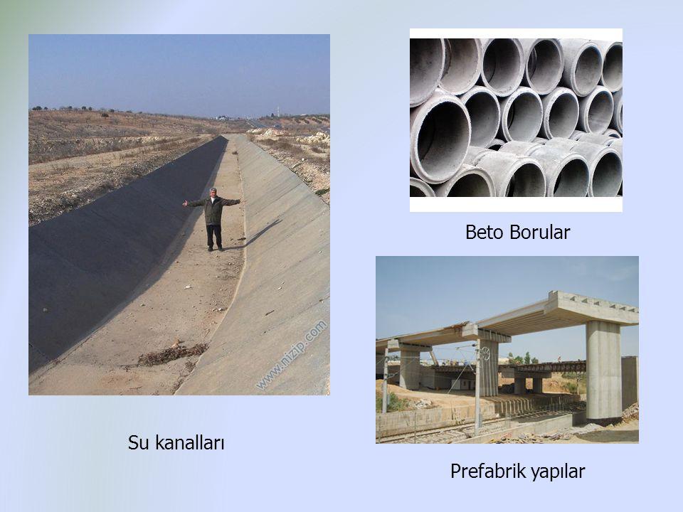 Beto Borular Su kanalları Prefabrik yapılar