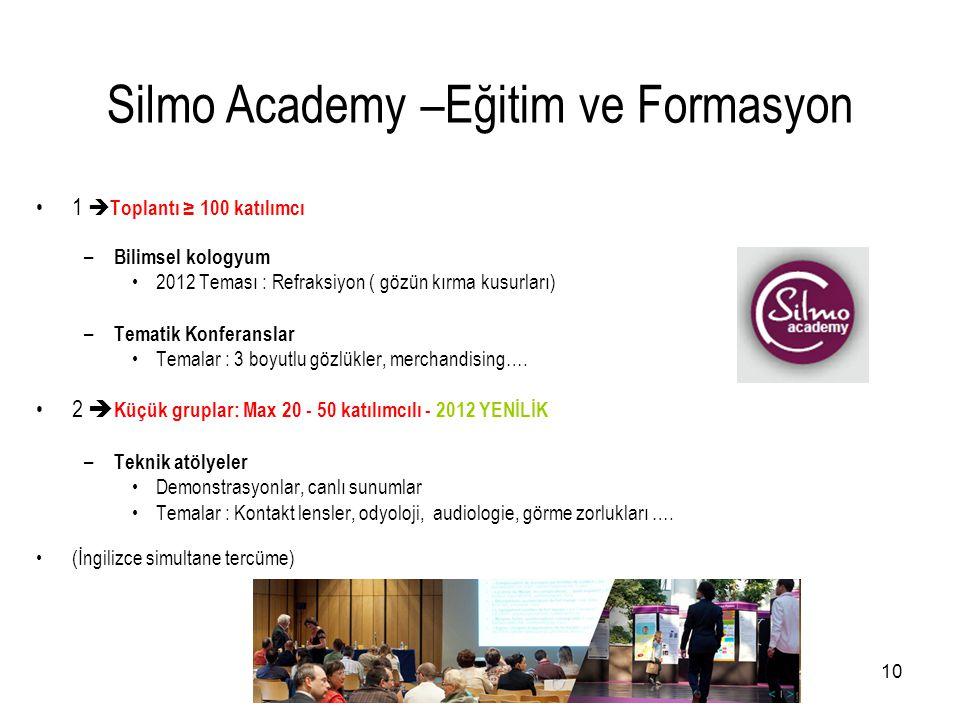 Silmo Academy –Eğitim ve Formasyon