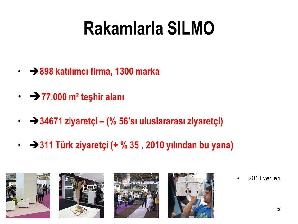 Rakamlarla SILMO 77.000 m² teşhir alanı