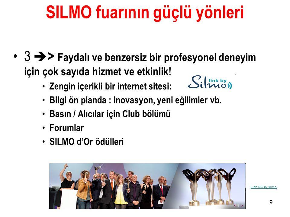 SILMO fuarının güçlü yönleri