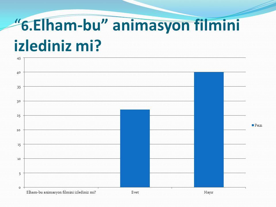 6.Elham-bu animasyon filmini izlediniz mi