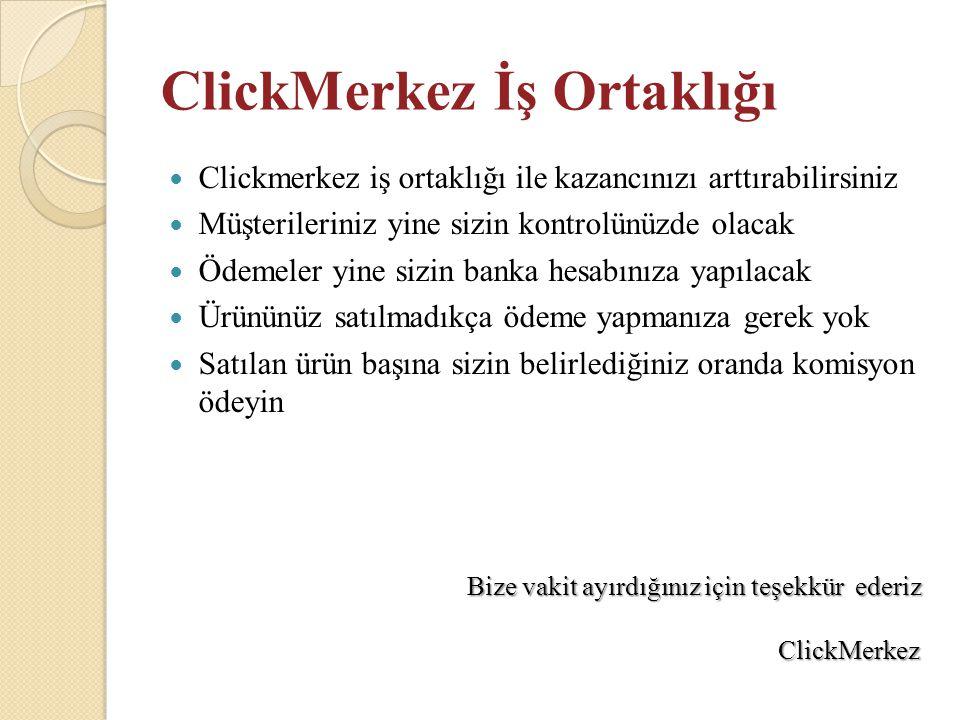 ClickMerkez İş Ortaklığı