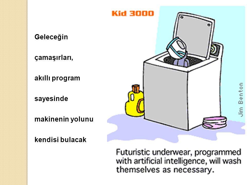 Geleceğin çamaşırları, akıllı program sayesinde makinenin yolunu kendisi bulacak