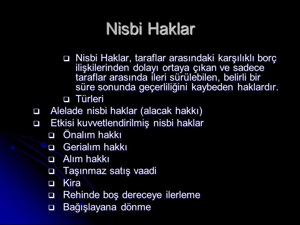 Nisbi Haklar
