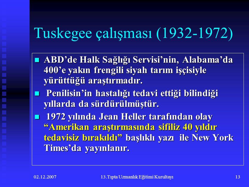 Tuskegee çalışması (1932-1972)