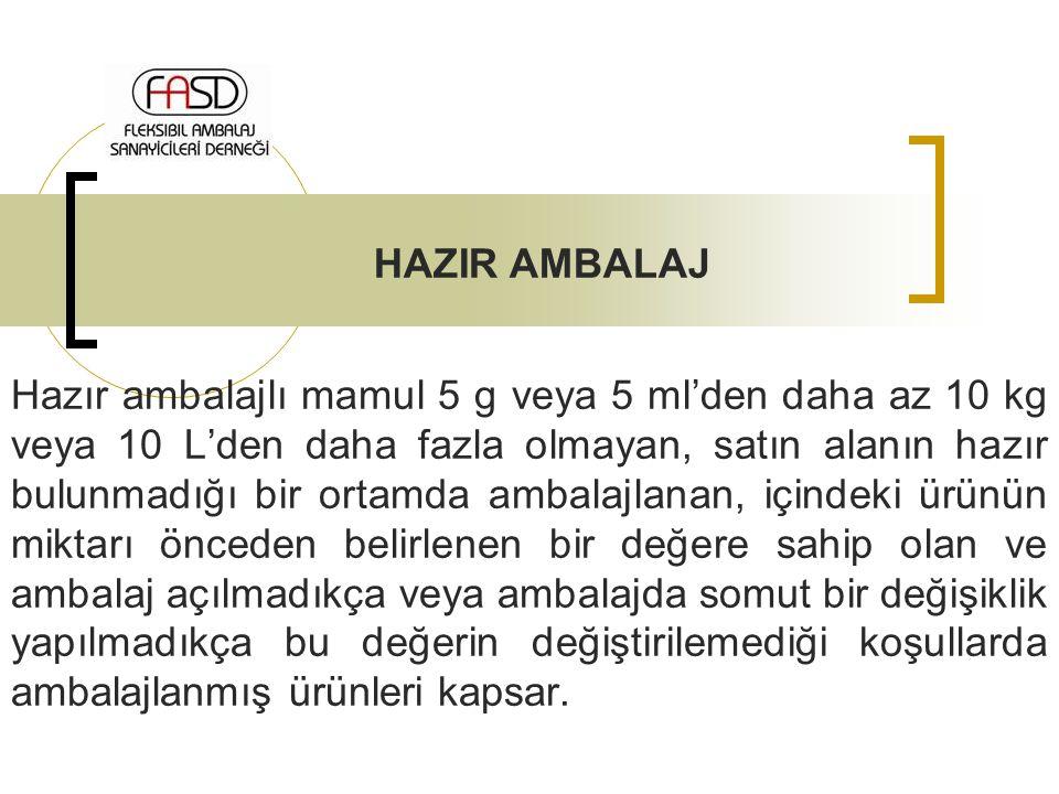 HAZIR AMBALAJ