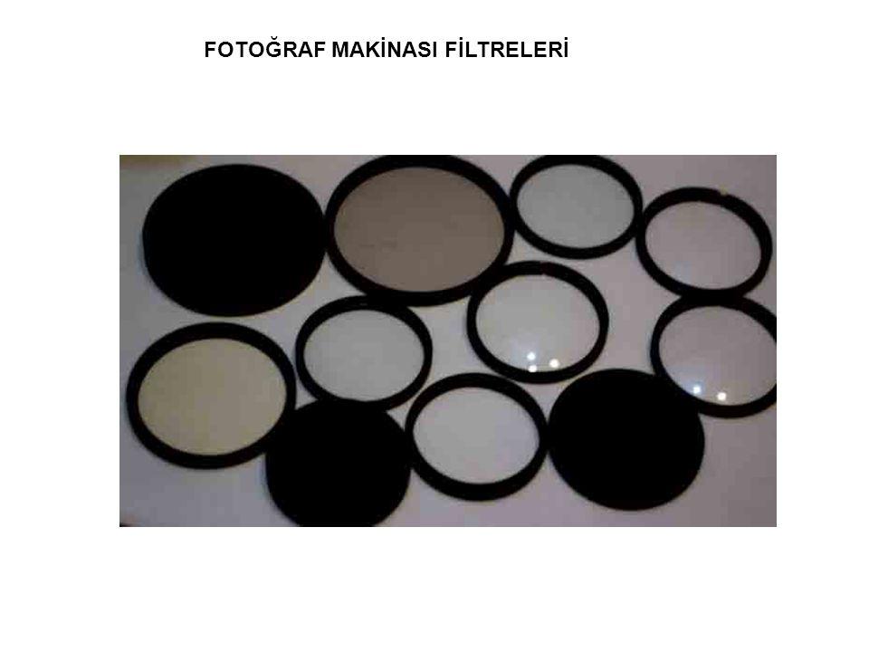 FOTOĞRAF MAKİNASI FİLTRELERİ