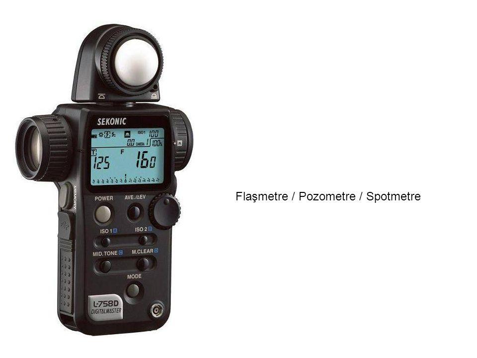 Flaşmetre / Pozometre / Spotmetre