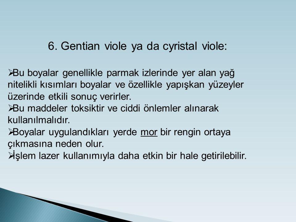 6. Gentian viole ya da cyristal viole: