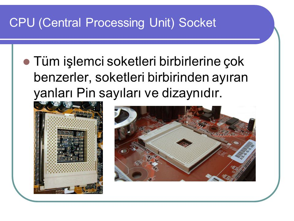 CPU (Central Processing Unit) Socket