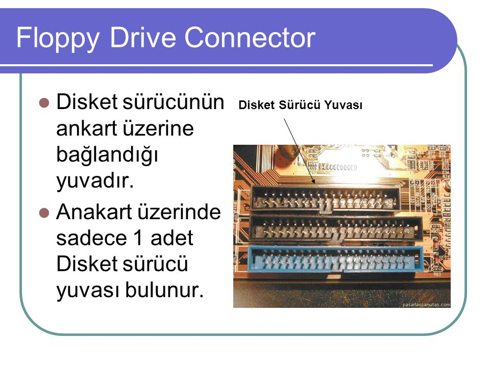 Floppy Drive Connector