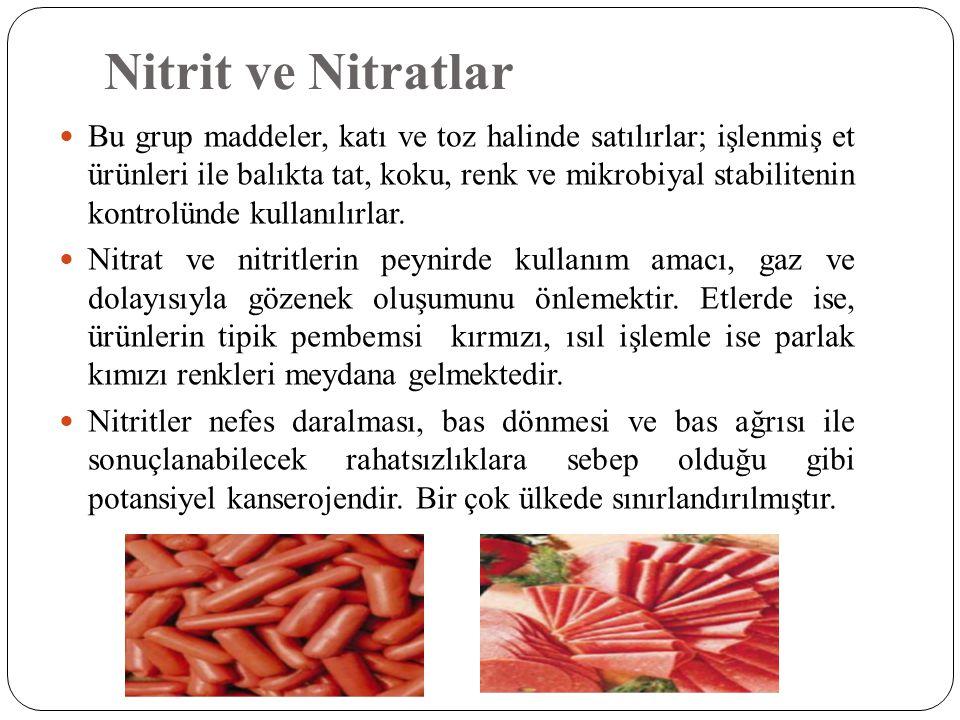 Nitrit ve Nitratlar