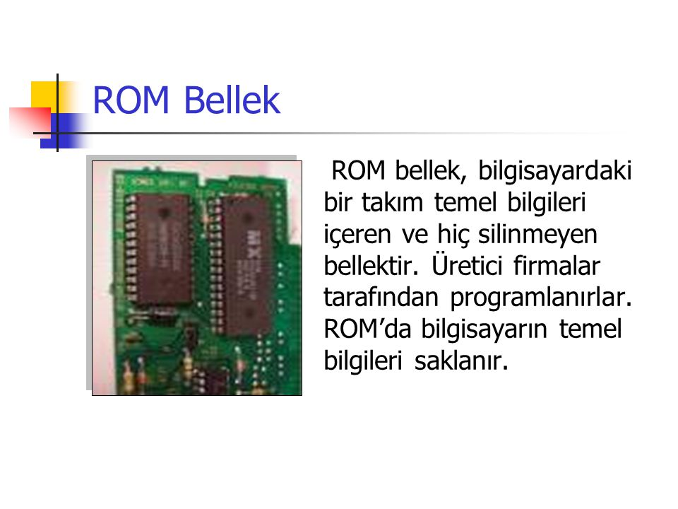 ROM Bellek