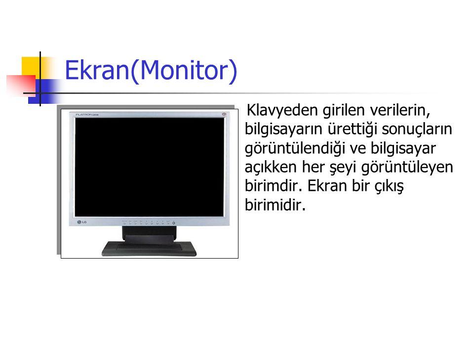 Ekran(Monitor)