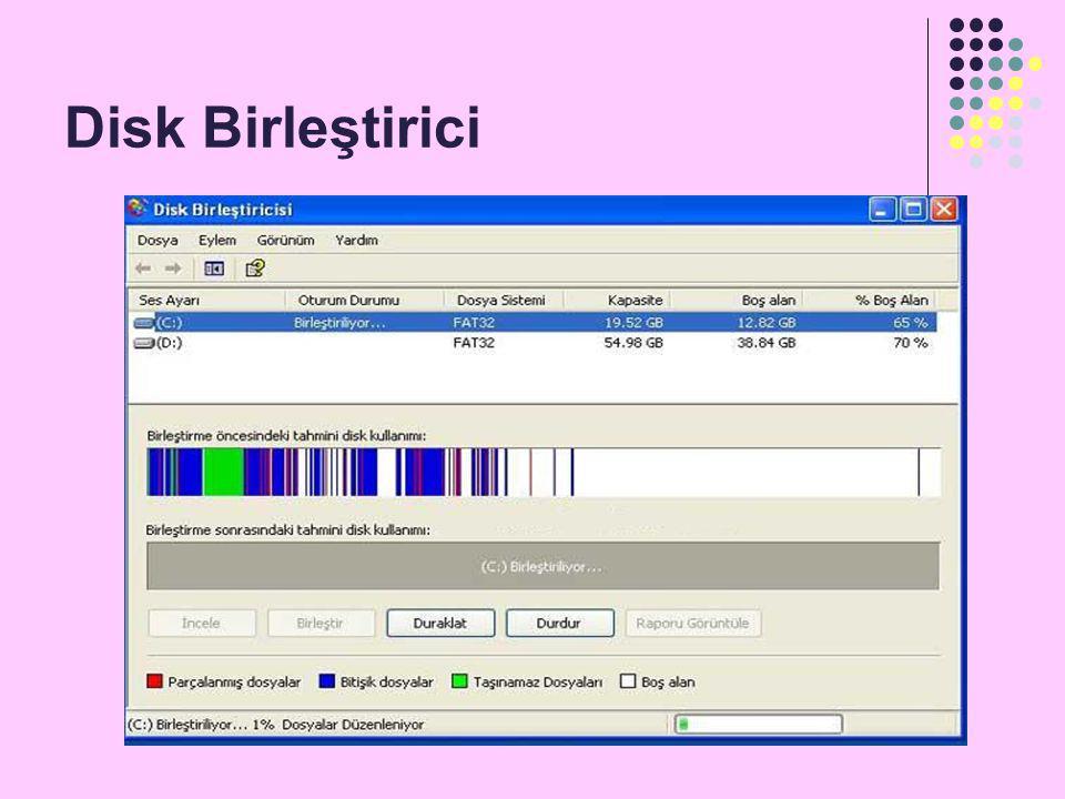 Disk Birleştirici