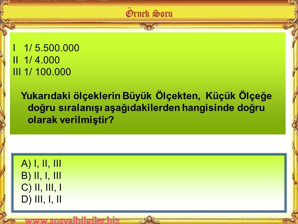 I 1/ 5.500.000 II 1/ 4.000. III 1/ 100.000.