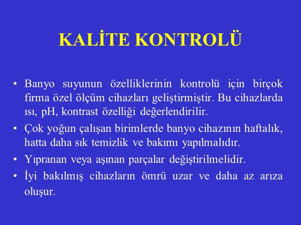 KALİTE KONTROLÜ
