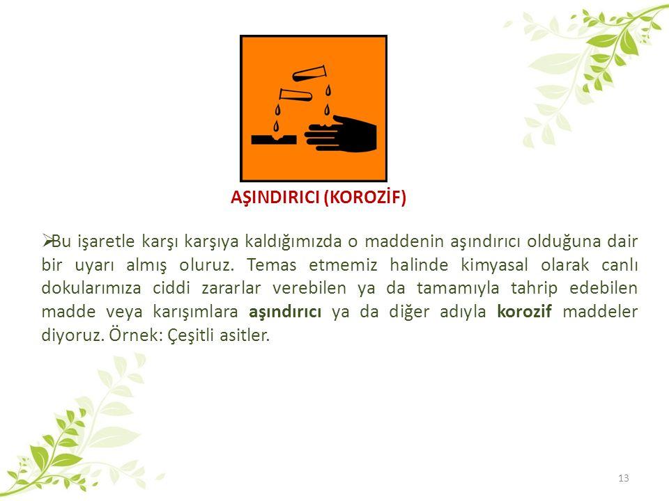 AŞINDIRICI (KOROZİF)