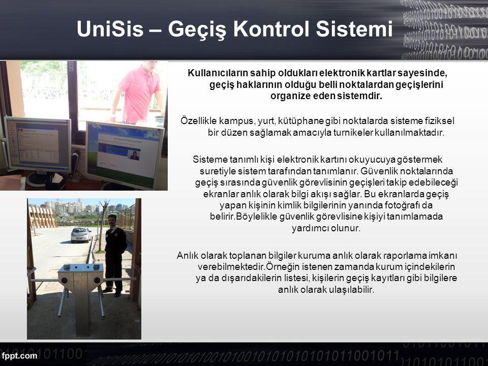 UniSis – Geçiş Kontrol Sistemi