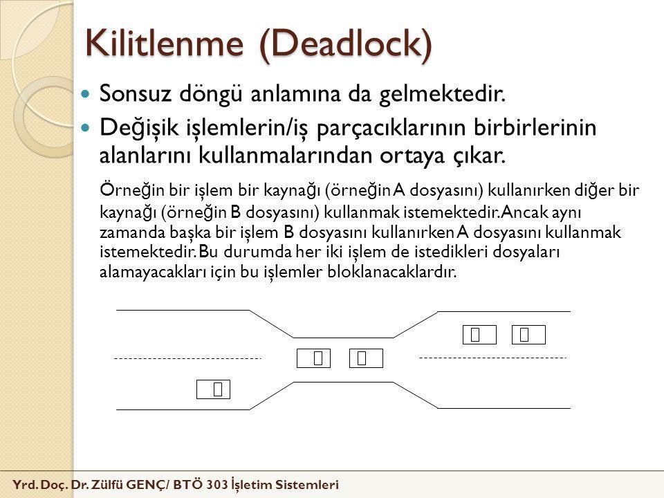 Kilitlenme (Deadlock)