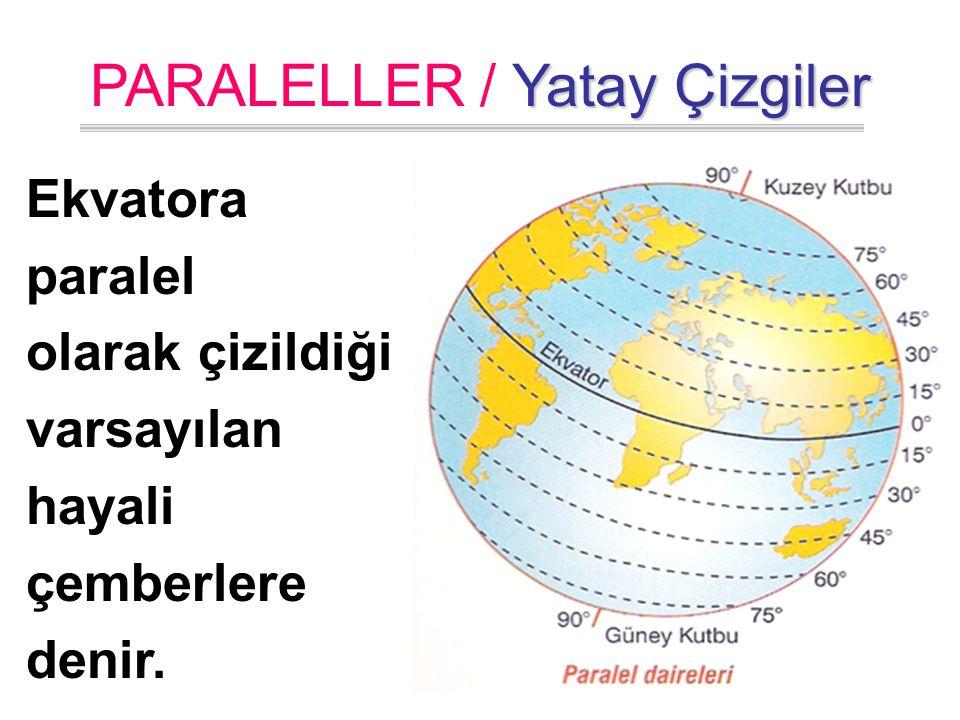 PARALELLER / Yatay Çizgiler