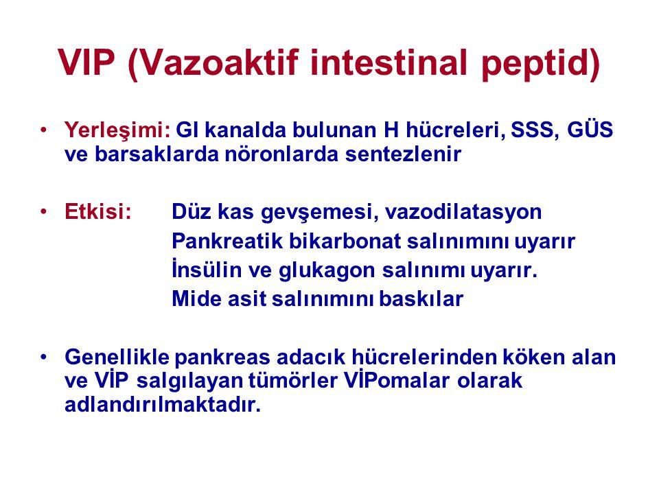VIP (Vazoaktif intestinal peptid)