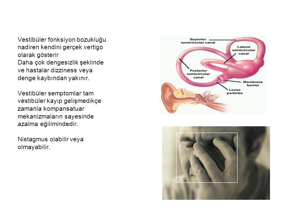 Vestibüler fonksiyon bozukluğu