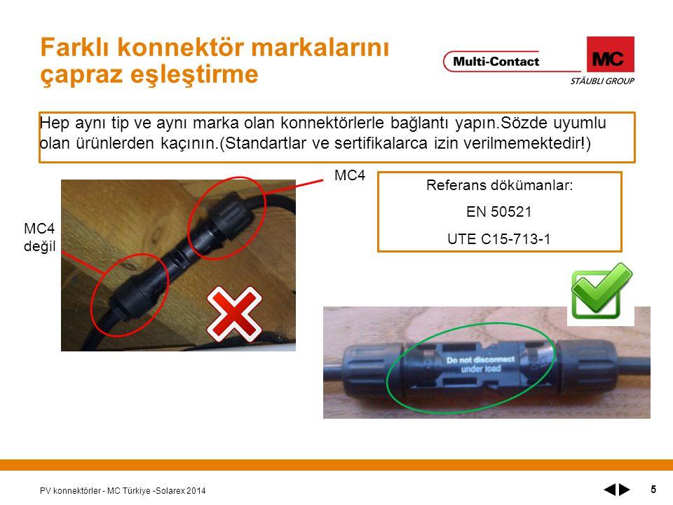 Farklı konnektör markalarını çapraz eşleştirme