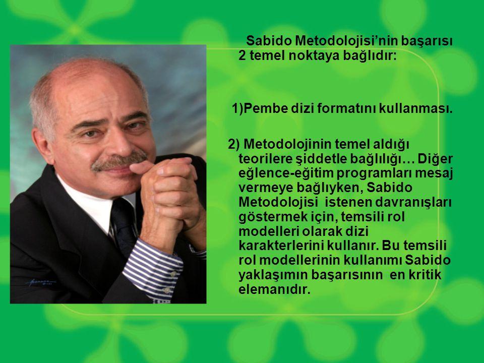 Sabido Metodolojisi'nin başarısı 2 temel noktaya bağlıdır: